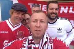 Speißa, Hardy und Freunde, Europa League Finale Pre-Party in Basel auf dem Barfüßerplatz,